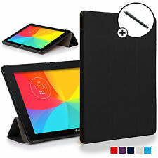 Forefront Cases® Black Folding Smart Case Cover LG G Pad X II 10.1 Stylus