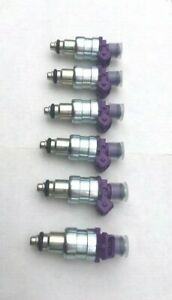 Jeep Upgrade Fuel Injector Set - NEW SIEMENS X 6