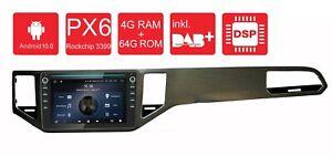 """AVM9-Golf Sportsvan:Android 10 Autoradio PX6 4+64G 9"""" IPS DAB DSP BT5 GPS für VW"""