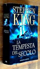 STEPHEN KING: La tempesta del secolo  p. e. 2000  Sperling & Kupfer