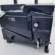ELMO 16-CL OPTICAL, 16mm Film Projector. ELMO Channel loading.