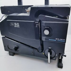 ELMO 16-CL OPTICAL, 16mm Film Projector. ELMO Channel loading.