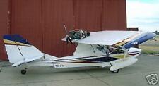 SeaRey SeaRay Amphibian Airplane Desk Wood Model Free Ship New