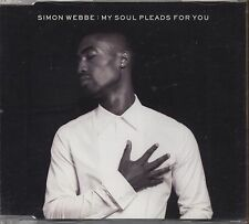 SIMON WEBBE - My soul pleads for you -  BLUE CDs SINGLE 2007 COME NUOVO 2 TRACKS