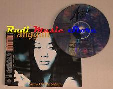 CD Singolo ANGGUN Snow on the sahara 1997 COLUMBIA COL 664398 2 mc lp dvd vhs S3