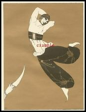 Nijinsky Russian Ballet Study (4) R.Montenegro Diaghilev Ballet Russes
