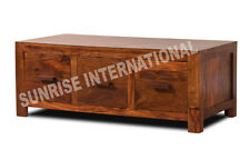 Contemporary  Wooden coffee center table with 6 drawers !