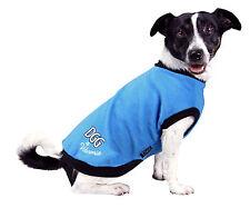 NEW (DGG) DOG GONE GORGEOUS  BLUE MEDIUM 37CM DOG JACKET/WARMIE/JUMPER/COAT
