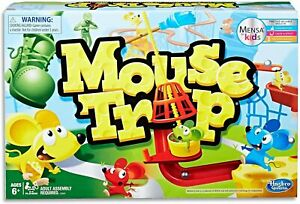 Mouse Trap - Mensa for Kids - 2 to 4 Players - Educational Board Games and Toys