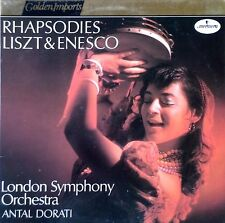 LISZT & ENESCO / RHAPSODIES  - DORATI  - MERCURY - GOLDEN IMPORTS - HOLLAND LP