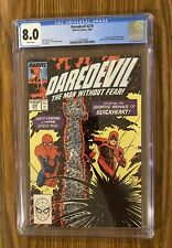 DAREDEVIL #270 CGC 8.0 WHITE PAGES ! 1st Appearance BLACKHEART 🔑 🔥