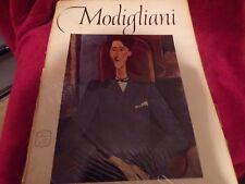 Abrams Art Book: Amedeo Modigliani, 16 Beautiful Full Color Prints