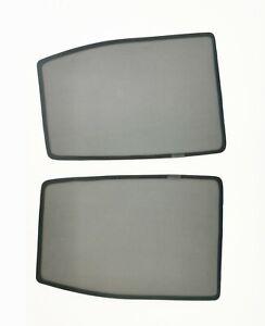 Rear Magnetic Window Sun Shades Mesh for ISUZU D-MAX 2012-19 Tailored