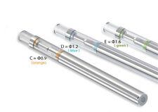 2 Vaporizer-Pens Disposable .5ml cartridge & battery 3 hole sizes ceramic coil