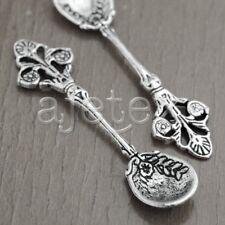 10 Tibetan Silver Tibet Style Spoon Bead Spacers Findings TS3279
