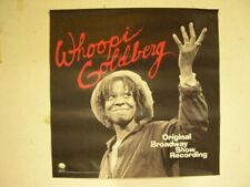 Whoopi Goldberg Poster Old Broadway Show record