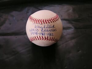 Tony Kubek Signed Autographed Baseball 1961 New York Yankees HOF JSA Certified