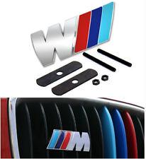 3D Metal ///M M Power Car Front Grill emblem Badge For BMW M3 M4 M5 X3 X5
