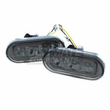 Volkswagen Beetle Convertible 1999-2006 LED Crystal Smoked Side Repeaters Lamps