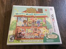 Nintendo 3DS Animal Crossing: Happy Home Designer new Sealed Free US Shipping