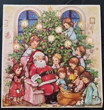 Vintage Kruger Santa Angels Christmas Advent Calendar