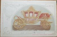 Hold-To-Light 1901 Royalty Postcard: Dutch King & Queen Appear - Color Litho