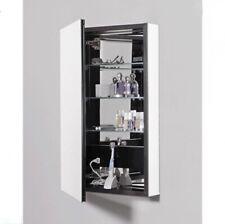 Robern   Pl Series Flat Beveled Mirrored Door with Black Interior.