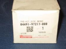 04491-97217-000 Pasticche freno Brake pad set Daihatsu Copen Cuore Sirion Trevis