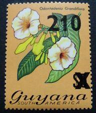 Guyana 1981 Blume Blüte Flower Blossom Pflanze Plant Aufdruck 631 Postfrisch MNH
