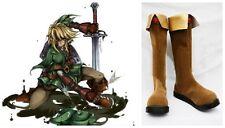 The Legend of Zelda Twilight Princess LINK Costume Cosplay Boots Boot Shoes Shoe