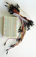 Solderless Breadboard with Jumper Leads for Arduino, PIC, Electronic circuits