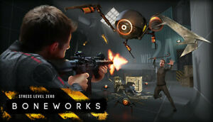 Boneworks VR PC Steam - Global! - Read DESC