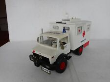 PLAY BIG UNIMOG / MERCEDES AMBULANCE GOOD CONDITION RARE