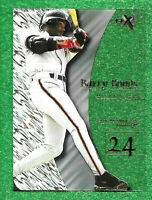 1998 E-X2001 #2 Barry Bonds - NM-MT AS SHOWN