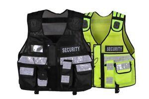 Security Hi Viz Tactical Vest Security, Enforcement, CCTV, Dog Handler Tac Vest