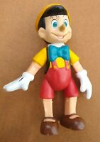 Vintage Disney Pinocchio Jointed Posable Figurine 5-3/4""