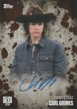 2016 The Walking Dead Season 5 Autographs Mud Chandler Riggs as Carl Grimes /50