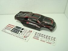 Traxxas 1/16 71076-3 VXL Brushless E-revo Red Black Factory Painted Body & Decal