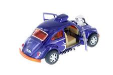 "5"" Kinsmart VW Volkswagen Beetle Dragracer Diecast Model Toy Car 1:32 Purple"