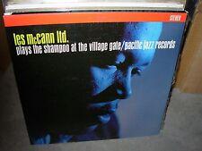 LES MCCANN plays the shampoo at village gate ( jazz ) - RED VINYL -