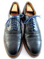"NEW Allen Edmonds ""Strandmok"" Cap-Toe Oxfords 12 A  Black  Made in USA (573)"
