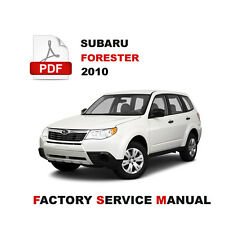 SUBARU 2010 FORESTER SH ENGINE BRAKE BODY TRANSMISSION SERVICE REPAIR FSM MANUAL
