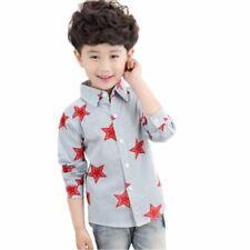 T-shirts, débardeurs et chemises à motif Rayé polyester pour garçon de 2 à 16 ans