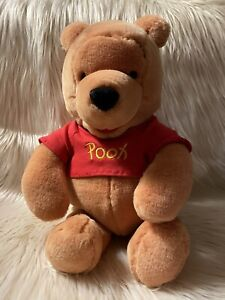 "Walt Disney Company **WINNIE THE POOH** 16"" Large Collectible Plush Gently Used"