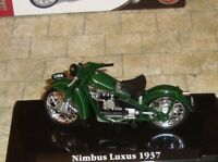 NIMBUS LUXUS 1937  CLASSIC MOTORBIKE - 1:24 - BOXED WITH DISPLAY STAND