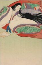 Great Old Japanese Art Postcard