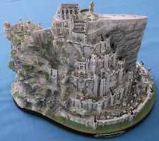 RARE LORD OF THE RINGS JRR TOLKEIN LARGE MINAS TIRITH SCULPTURE DANBURY MINT