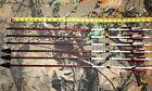 "6 Port Orford Cedar hunting Arrows 11/32"" 55/60# 29"" 145 Grain Ace broadheads"