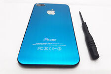Genuine Glass Replacement Back for Apple iPhone 4 & 4s Battery Cover + Tool