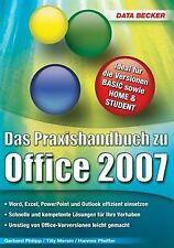 Office 2007. Das Praxishandbuch von Gerhard Philipp... | Buch | Zustand sehr gut